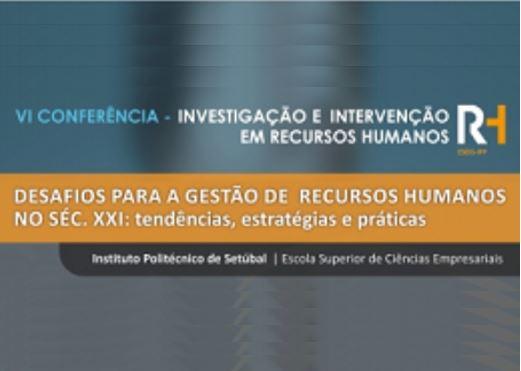 Ver N.º 6 (2016): VI Conferência em Investigação e Intervenção em RH
