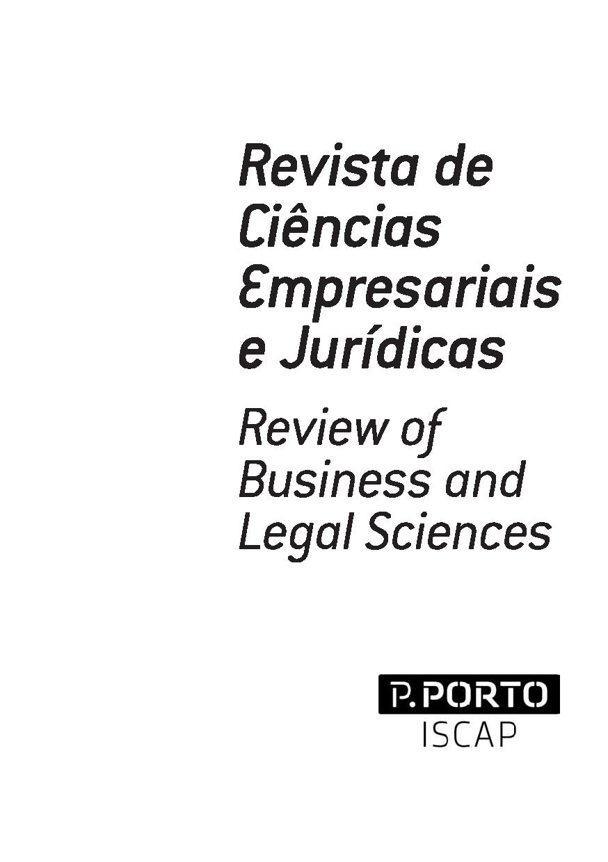 View No. 30 (2018): Revista de Ciências Empresariais e Jurídicas / Review of Business and Legal Sciences