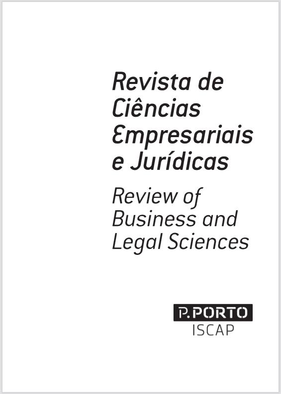 View No. 31 (2021): Revista de Ciências Empresariais e Jurídicas / Review of Business and Legal Sciences